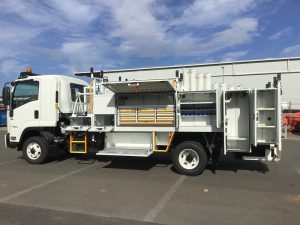 SERVICE TRUCK - VARIOUS STORAGE OPTIONS